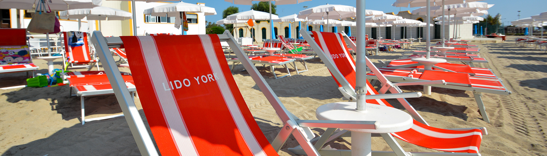 Spiaggia del Salento - Lido York- Stabilimento balneare